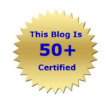 The Blog is 50 plus certified